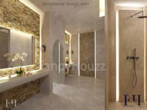 beauty salon in contemporary style
