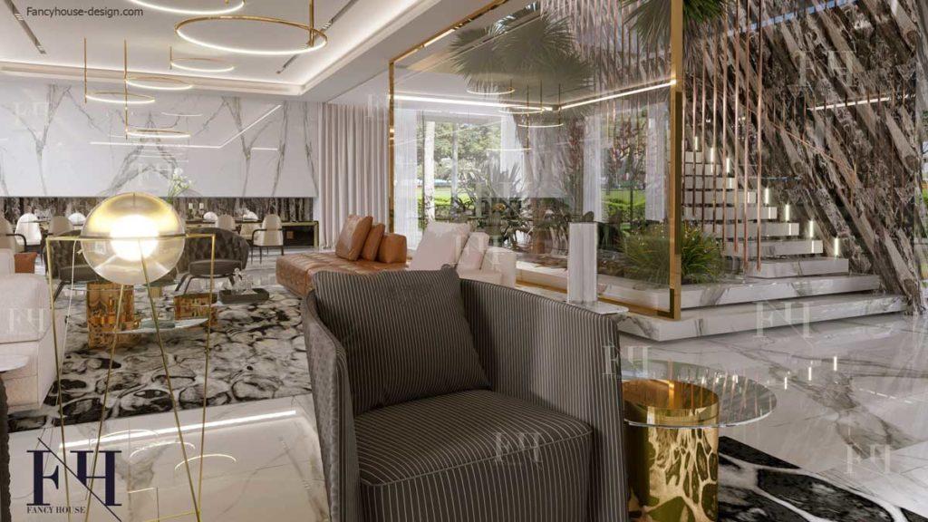 Large formal living room ideas.