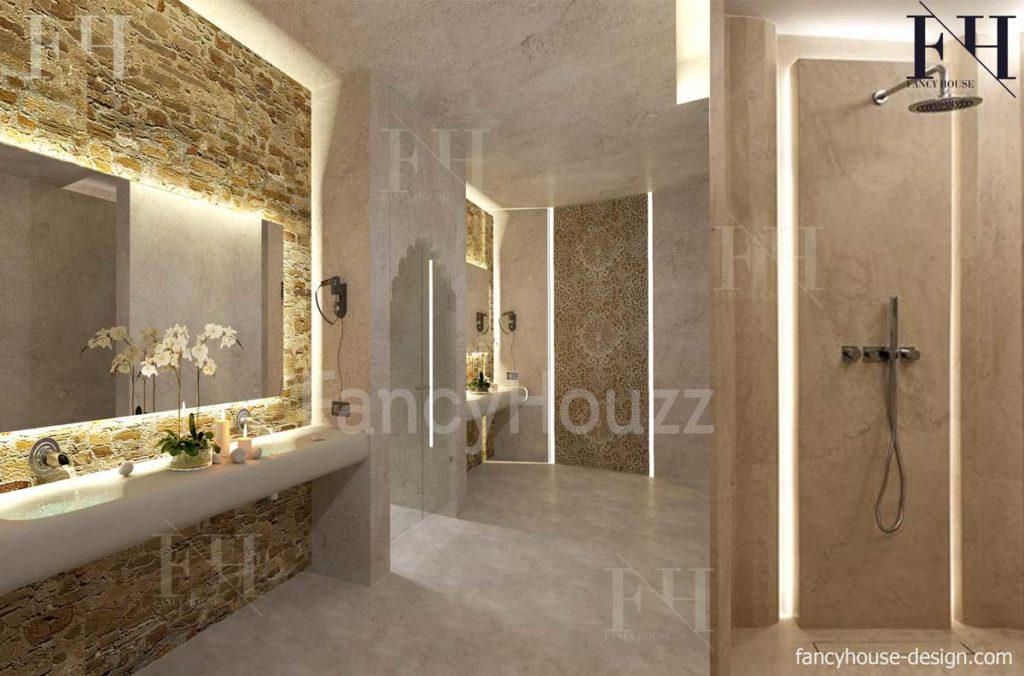 Luxury salon and spa interior design in Dubai