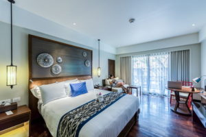 Bedroom of Dubai villa