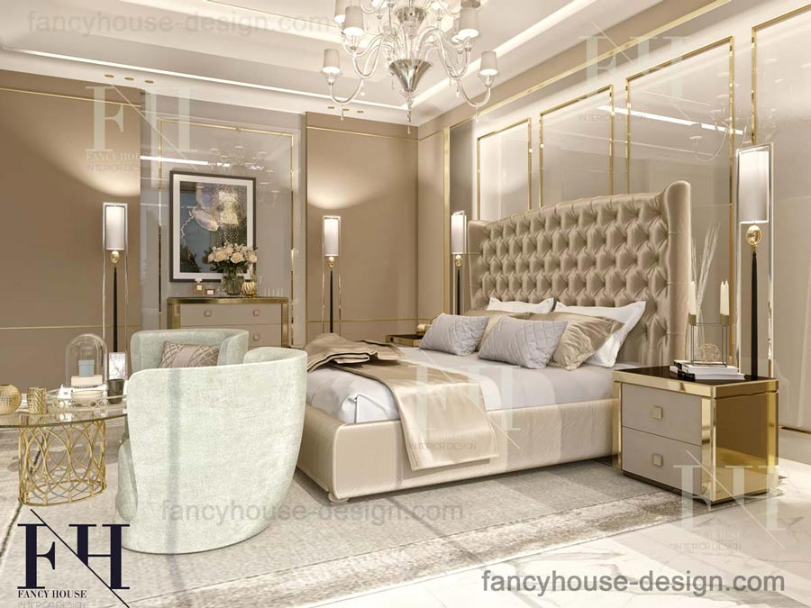 Bespoke master bedroom
