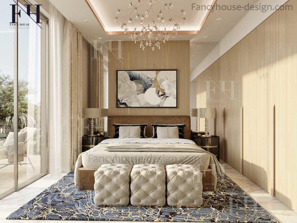 Dubai bedroom design in UAE home.