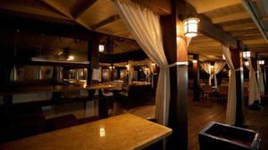 restaurant internal appearance.