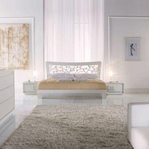 White color interior design for a flat