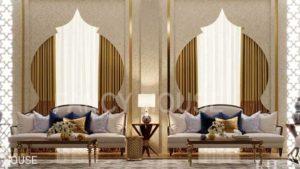 Royal palace interior design
