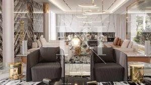 luxury modern style living room